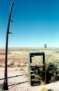 Gas Pump, Two Guns, Arizona
