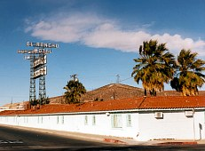 El Rancho Motel, Barstow, California