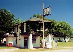 Lucille's Gas Station, Hydro, OK
