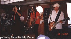 The Angels' private boat party, 16-Nov-97
