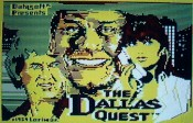 'The Dallas Quest' by DataSoft - Opening Screen (C-64)