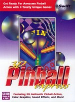 3D Pinball Express Box Art
