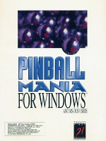 Pinball Mania For Windows Box Art